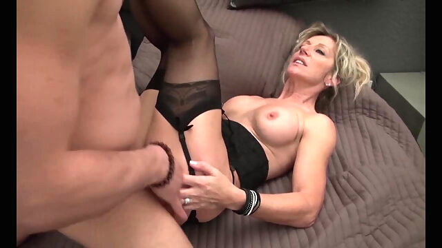 French Realtor Milf blonde blowjob milf