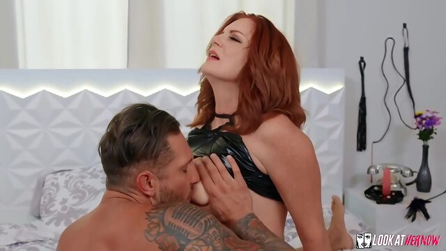 Beautiful, red haired mature with big boobs cant wait to suck dick and get fucked big tits cumshot hairy