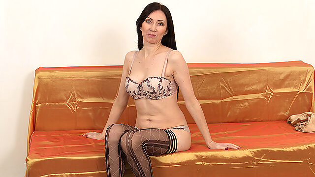 Naughty Mom Playing With.. dutch european lingerie
