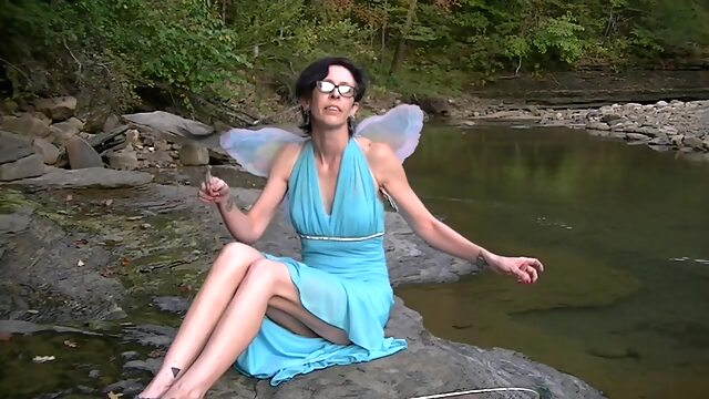 On the 10th Day of Halloween Willamina is the Blue Fairy amateur cosplay hd