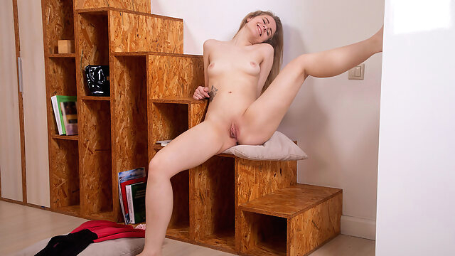 Anastasia Andis in Feeling Myself - Nubiles female orgasm masturbation small tits