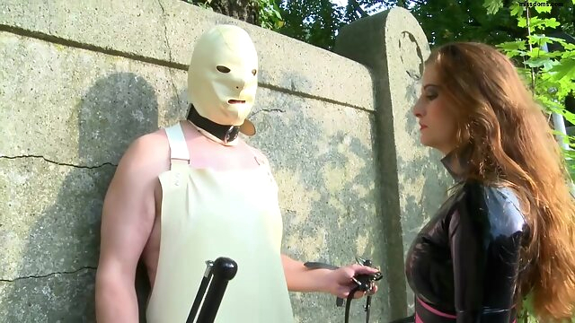 Lady Anna - final outdoor.. bdsm femdom fetish