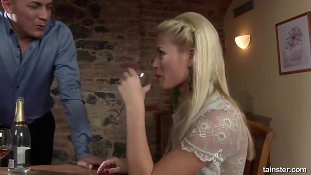 PissingInAction - Sweet Cat blonde fetish hd