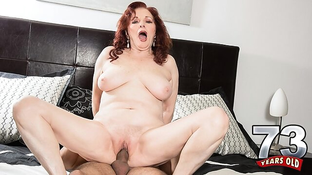 Katherine Is 47 Years Older Than The Guy Who's Fucking Her - Katherine Merlot And Rocky - 60PlusMilfs big ass big tits high heels