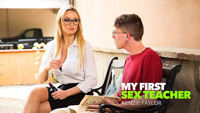 Professor Mckenna Fucks Student After Class - MyFirstSexTeacher big ass big tits blonde