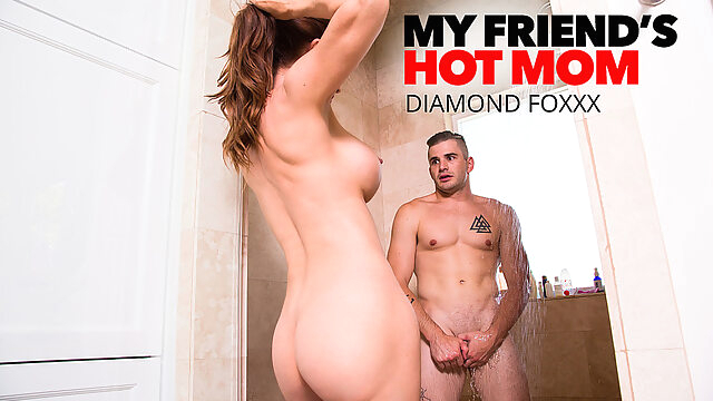 Mrs. Culver Showers With And Fucks Son's Friend - MyFriend'sHotMom big ass big tits high heels