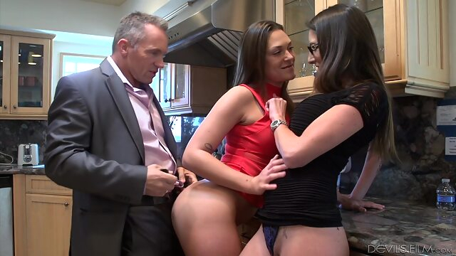 MyHusbandBroughtHomeHisMistress - Marcus London - Olivi - OLIVIA british brunette hairy