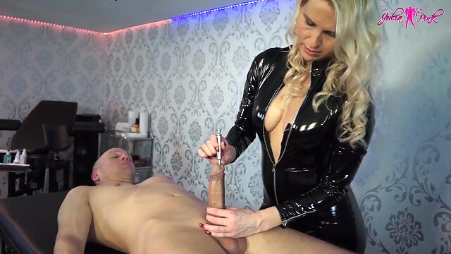 Hard fucked by his dick blowjob sex toy mature