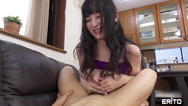 Erito - It's a Secret Fucked by My Friend's Mom asian big tits brunette
