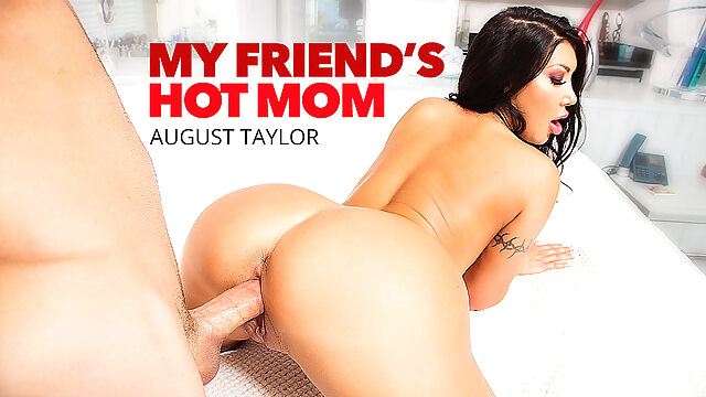 Yoga, Fuck And A Jizz Facial: August Taylor's Milf Treatment - MyFriend'sHotMom asian big ass big tits