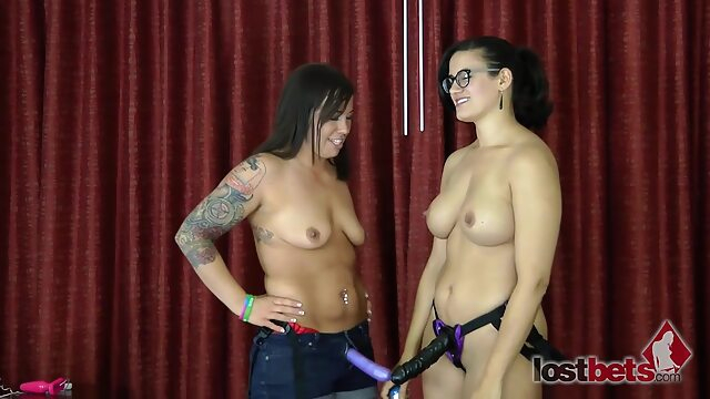 Lost Bets Games - 449 Pod Stab With Penny And Tobi big tits brunette hd