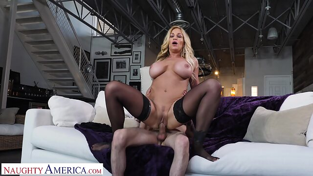 Tyler Faith fucks son's friend when hubby cheats big tits blonde creampie