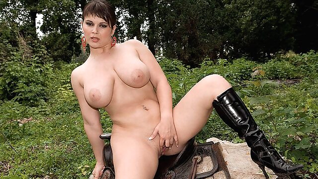 Saddle Up With Kristy - Kristy Klenot - Scoreland bbw big ass big tits