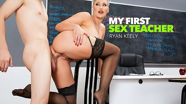 Prof. Conner Pops A Cherry - MyFirstSexTeacher big ass big tits blonde