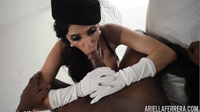 Ariella ferrera and T Real's Black Cock - ariellaferrera big cock blowjob hardcore
